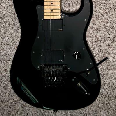 Charvel san dimas Black electric guitar super strat Floyd rose Zakk Wylde emg pickups for sale
