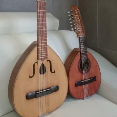 Vicente Sanchis 1950. Old guitar. Bandurria y laúd españoles. for sale