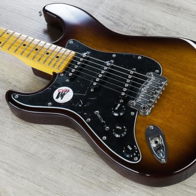 G&L Tribute S-500 Lefty Electric Guitar Left Handed Tobacco Sunburst w/ GIG BAG for sale