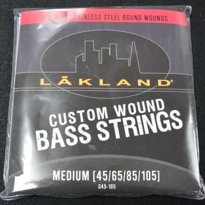 Lakland Steel Bass Strings (4 String), 45-105