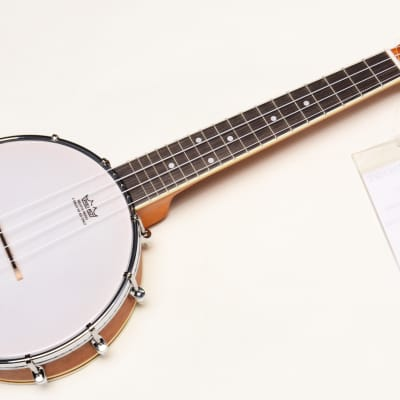 Oscar Schmidt OUB1 Banjo Ukulele Natural Finish Professionally Setup! for sale