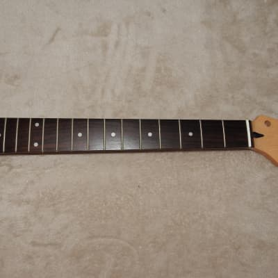 Mighty Mite MM2901 Rosewood on Birdseye Maple Stratocaster Neck 22 Frets C Profile Poly Finish NOS#1
