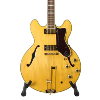 Epiphone  1964 John Lee Hooker Sheraton Limited Edition 2008 Natural for sale