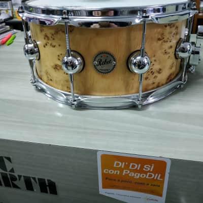 Drum sound Rullante Rebel acero exotic snare 14x6,5