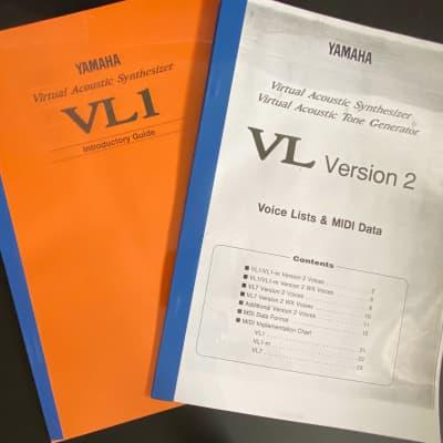 Yamaha VL-1 Manuale d'uso e Midi