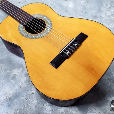 Trump CN4N MIJ Classical/Travel Guitar (1970s, Natural) for sale