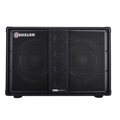 Genzler Amplification BA210-3 Slant Bass Speaker Cab, 2x10, 500w, 8 Ohms for sale