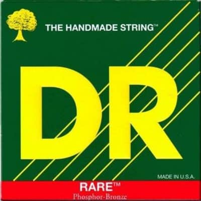 DR RARE™ - Phosphor Bronze Acoustic Guitar Strings: Light 12-54