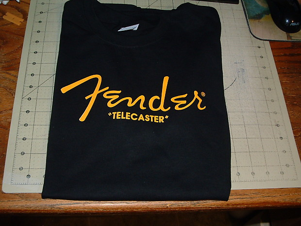 Fender X size Telecaster Shirt Reverb Fender T Large rqTzrHBw