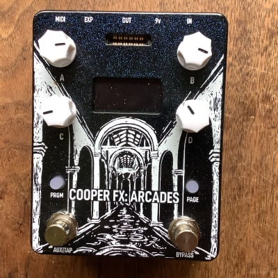 Cooper FX Arcades Multi-Effect Console - Experimental Package with four cards