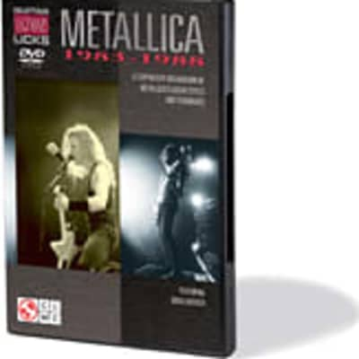 Metallica - Guitar Legendary Licks 1983-1988: A Step-by-Step Breakdown of Metallica's Guitar Styles and Techniques