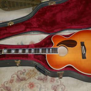 Borys Jypsy Jazz Flatop Cutaway Jumbo Acoustic Guitar 1991 for sale