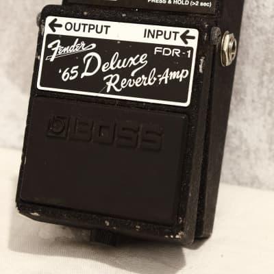 Boss Legend Series FDR-1 Fender '65 Deluxe Reverb-Amp Pedal for sale