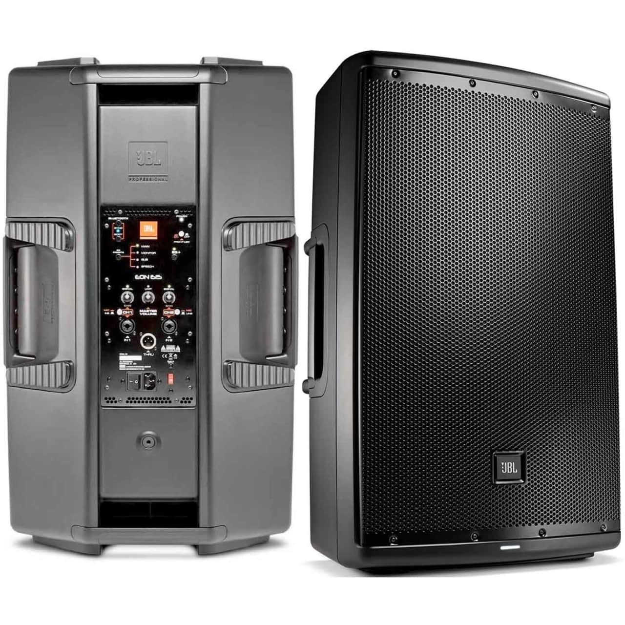 jbl eon 615 1000w 15 2 way powered speaker system with reverb. Black Bedroom Furniture Sets. Home Design Ideas