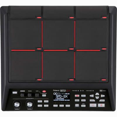 Roland SPD-SX Sampling Percussion MIDI USB Electronic Drum Pad w/ Power Supply