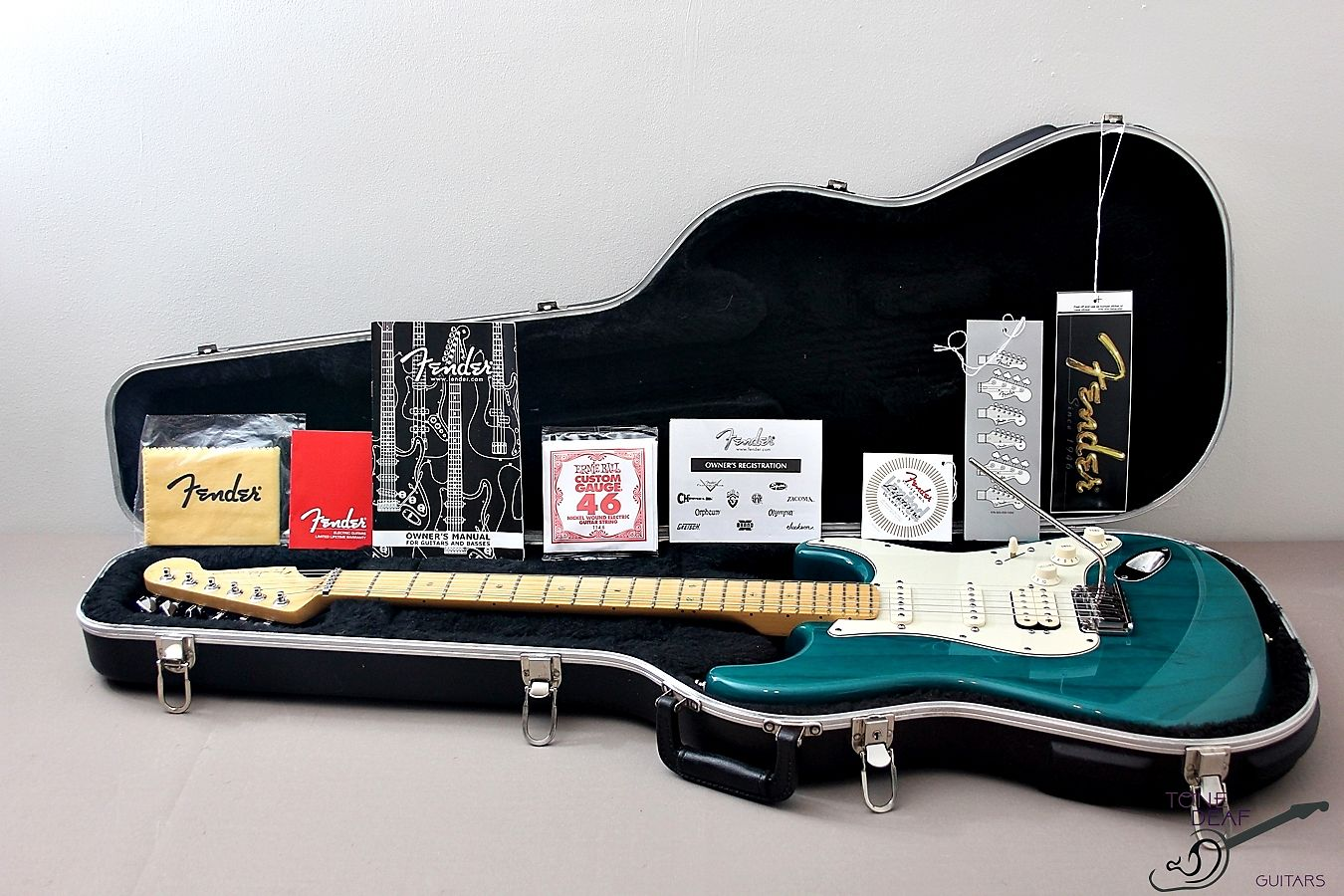 Fender American Deluxe Stratocaster Teal Blue 2000 Reverb Ibanez At10p Wiring Diagram