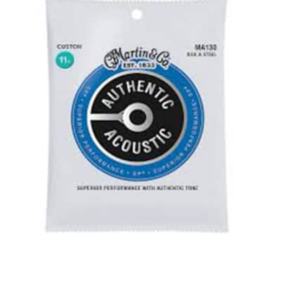 Martin MA130S Silk and Steel Acoustic Guitar Strings