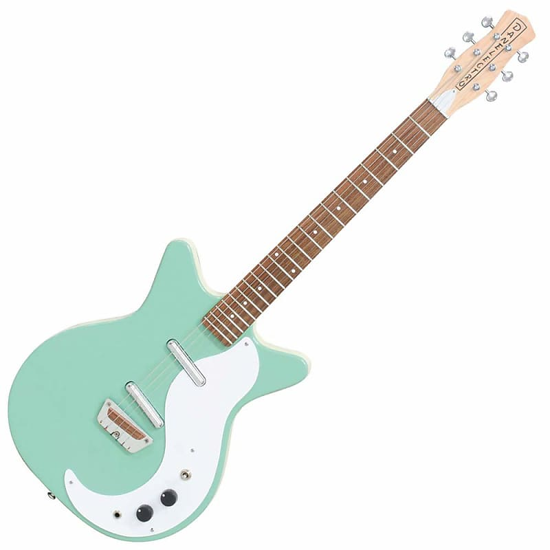 ostaa jaloilla uk saatavuus Danelectro Stock 59 Electric Guitar Vintage Aqua Free Shipping