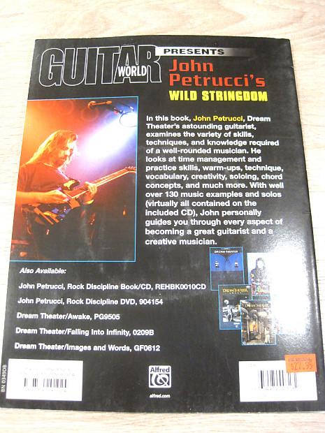 Guitar World Presents John Petrucci Wild Stringdom TAB Book /& CD Dream Theater