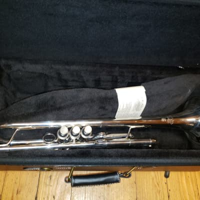 Yamaha Xeno II YTR-8335RS Reversed Leadpipe, Silver Bb Trumpet In Nearly-New Condition!
