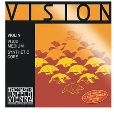 Thomastik VIS100 Vision Solo Violin Strings Set