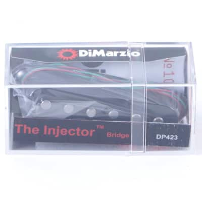 Dimarzio DP423 Paul Gilbert Injector Bridge Guitar Pickup Black image