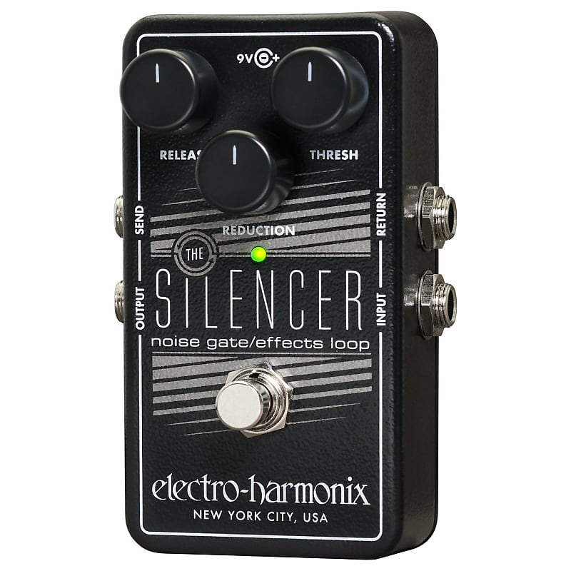 electro harmonix silencer noise gate guitar effects looper reverb. Black Bedroom Furniture Sets. Home Design Ideas
