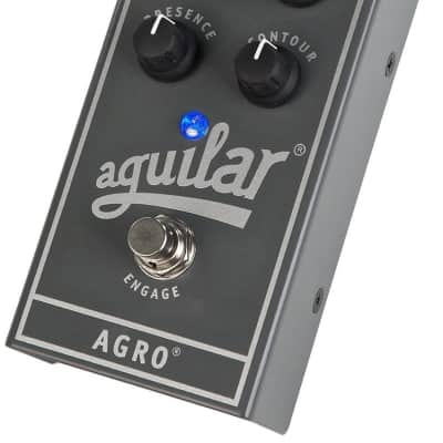 Aguilar AGRO Bass Distortion Effect Pedal for sale