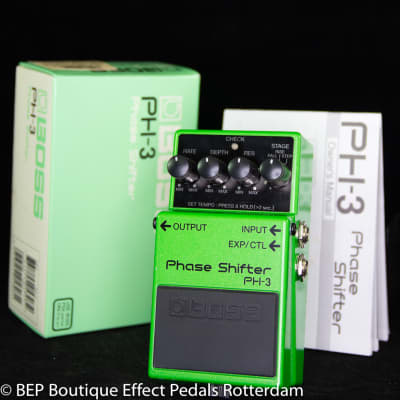 Boss PH-3 Phase Shifter 2002 s/n AP76367 as used by Dan Auerbach