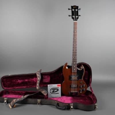 1972 Gibson EB-3 Cherry 9lbs 12oz w/ Free Extras + Original Hardshell Case