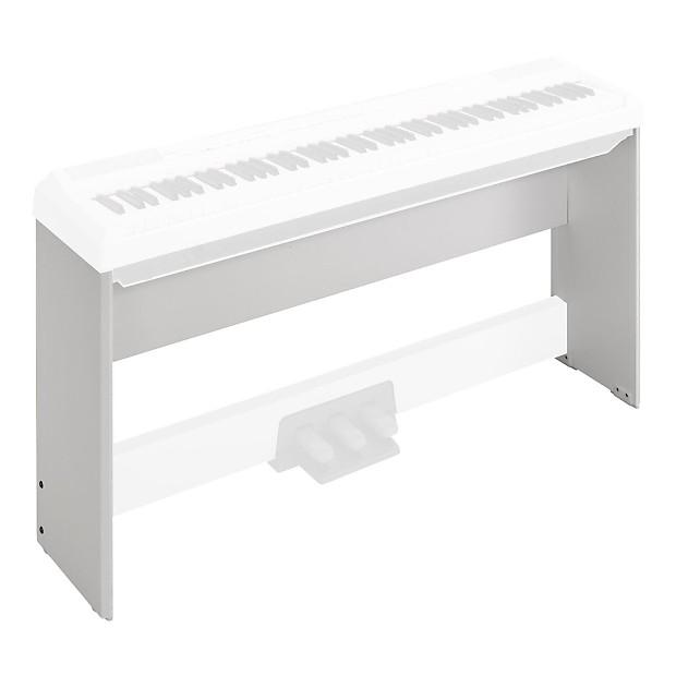 Yamaha l85 keyboard stand white reverb for Yamaha piano pedal unit