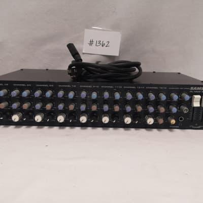 Samson PL1602 Rackmount Mixer #1362 Good Used Working Condition