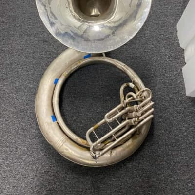 20k conn  Naked lady on bell Sousaphone BBb For parts or fix up