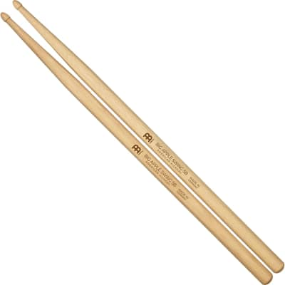 Meinl SB112 Big Apple Swing 5B (Pair) Drum Sticks w/ Video Links