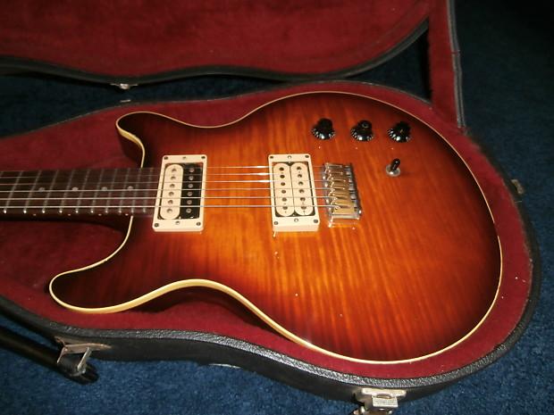 Vintage 1979 Hamer Sunburst Electric Guitar W Original