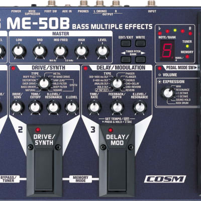 Boss ME-50B Bass Multi Effects Pedal for sale