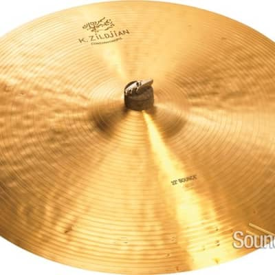 "Zildjian 22"" K Constantinople Bounce Ride Cymbal Demo/Open Box"