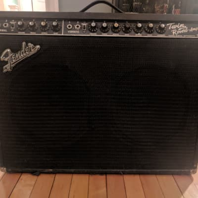 Fender 1967 Twin Reverb Blackface (some cabinet mods)