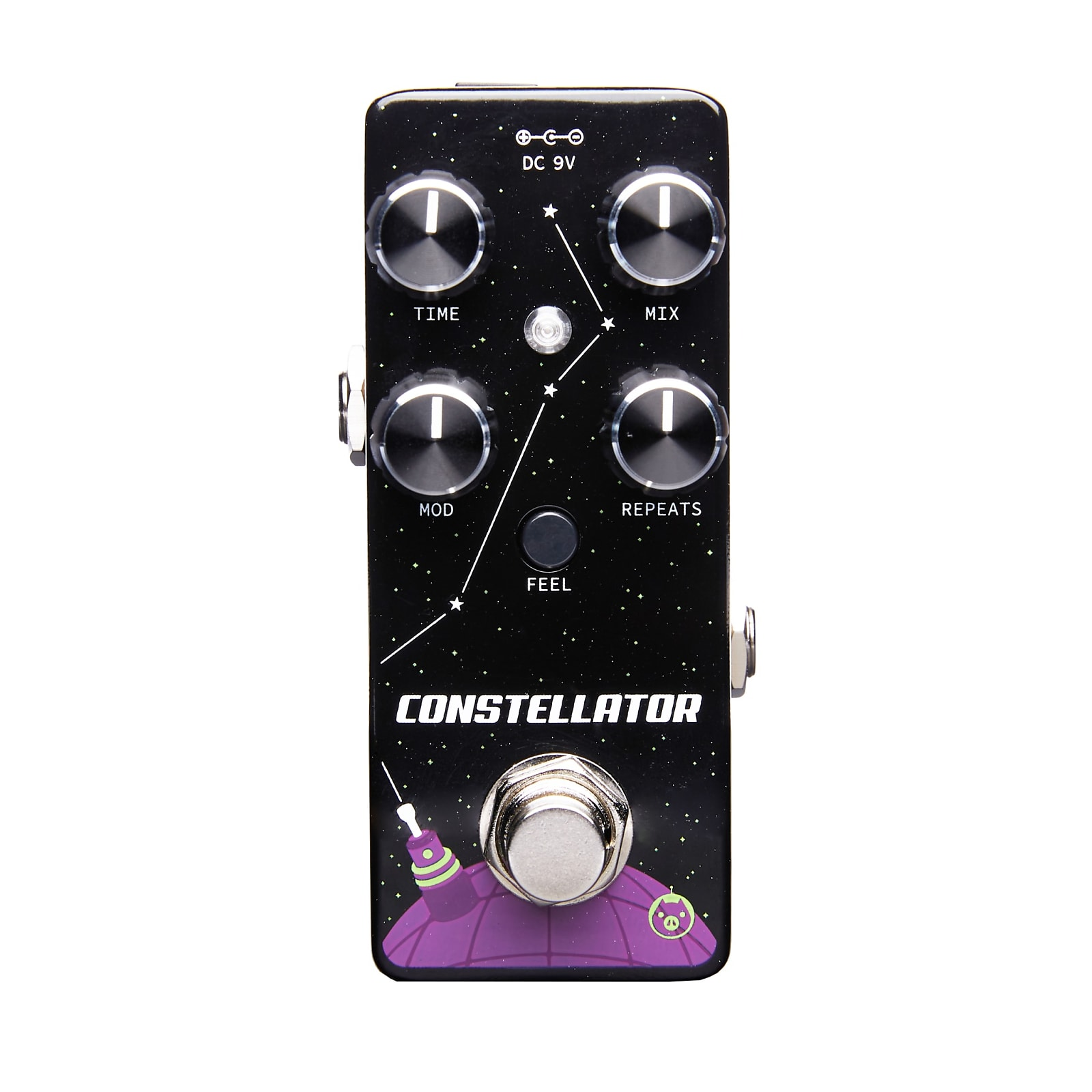 Pigtronix MAD Constellator Modulated Analog Delay Micro Effects Pedal