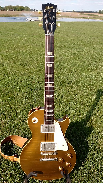 1957 Gibson Les Paul Goldtop Conversion  a3d976c0f
