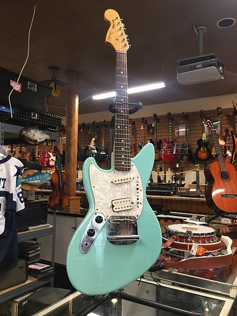 Fender Jag Stang 1997 Seafoam Reverb