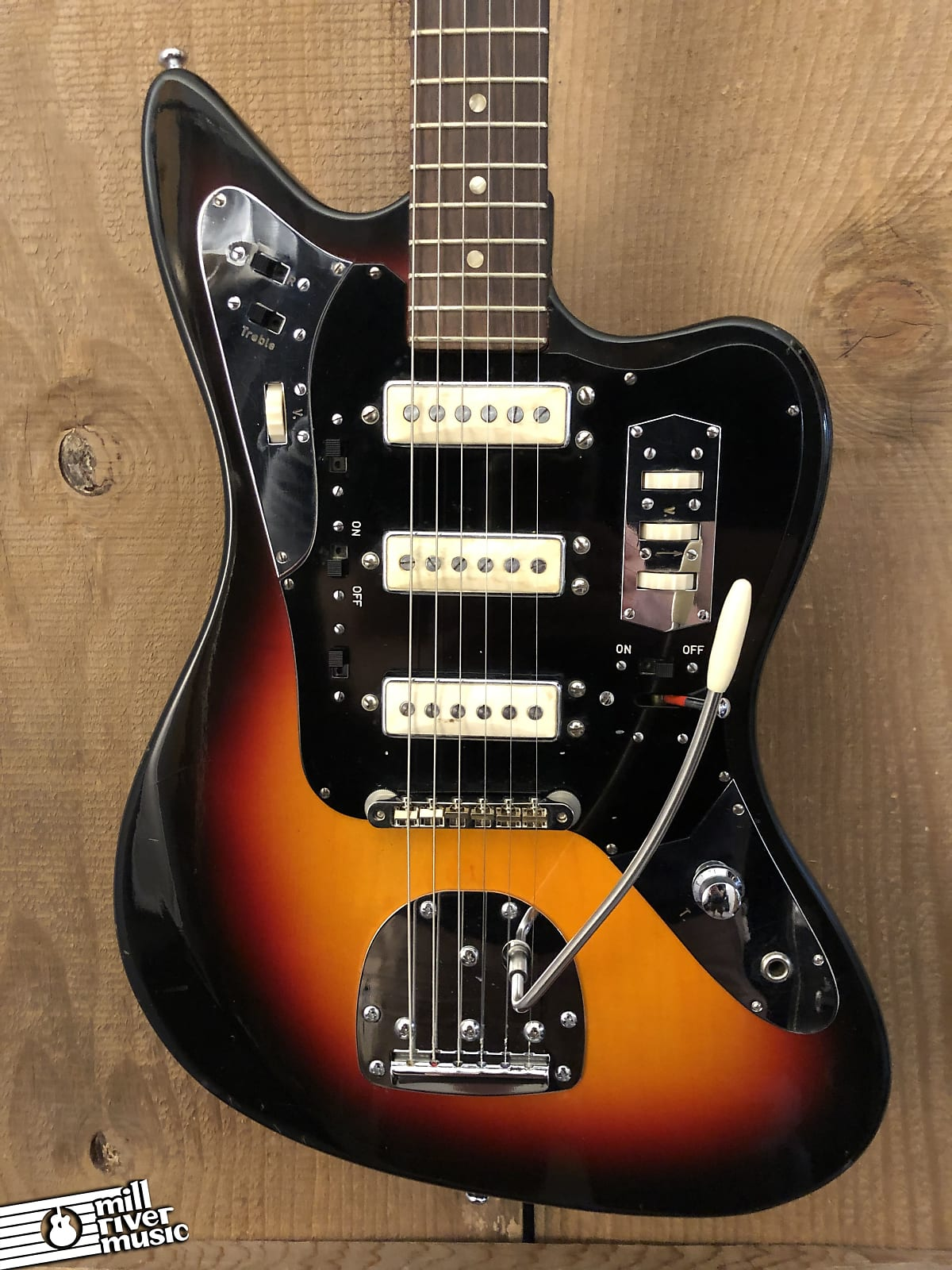 Klira 233 Star Club Vintage Offset Sunburst c. 1960s w/ OHSC Germany