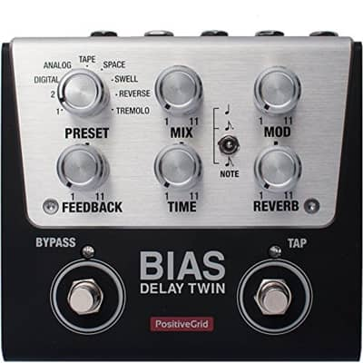 Positive Grid BIAS Delay Twin 2 Button Customizable Pedal