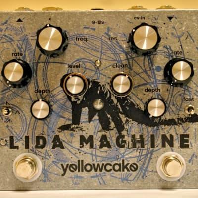 Yellowcake Lida Machine VCF Pedal w/ 2 LFO's Guitar Pedal