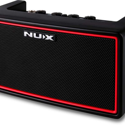 NuX Mighty Air Stereo Modeling Guitar Amplifier with Bluetooth + B-5RC Wireless Transmitter