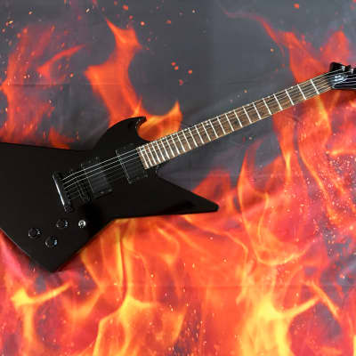 Goliath Explorer Black Diamond GOLIATH Blackout Custom Guitar for sale