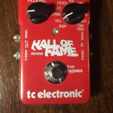 TC Electronic Hall of Fame Reverb Excellent Condition