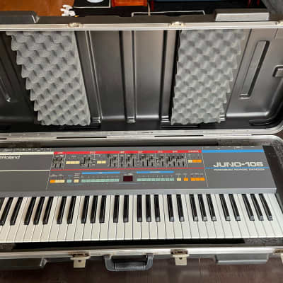 Roland Juno-106 Fully serviced, new chips