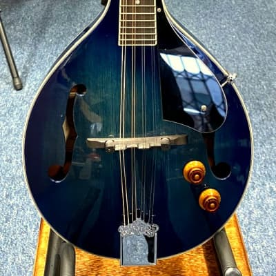 Ashbury Am-10 Electro A-Style Mandolin in Blue for sale