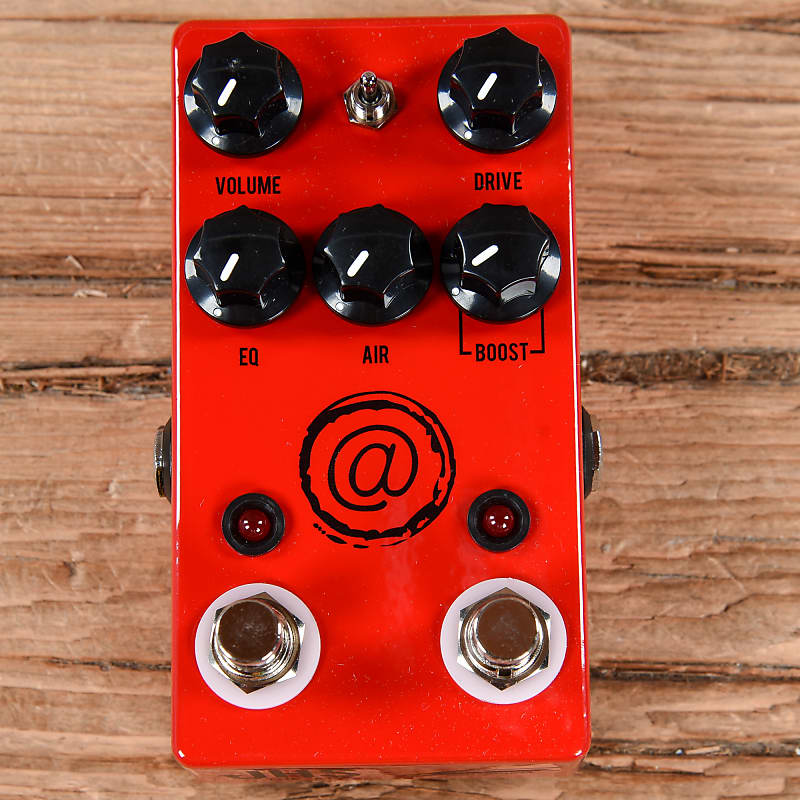 Used JHS Andy Timmons Plus Channel Overdrive Distortion Guitar Pedal AT+